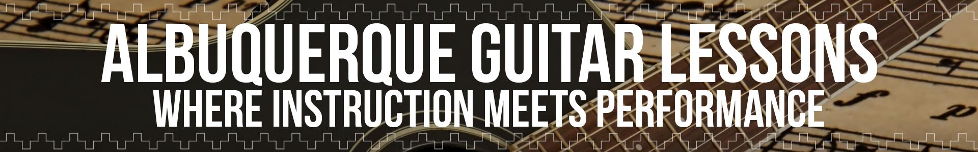 Albuquerque Guitar Lessons-Banner